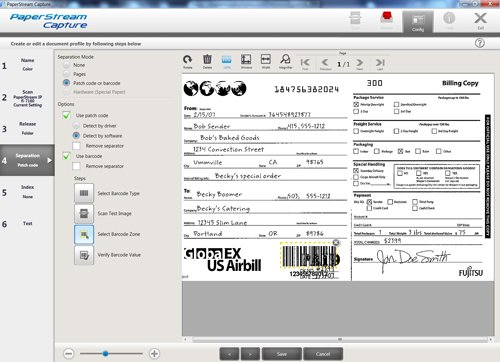 fujitsu capture pro scanning software