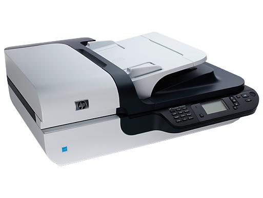 HP Scanjet N6350 scanner for networks