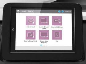 HP Digital Sender Flow 8500 fn1 scanner
